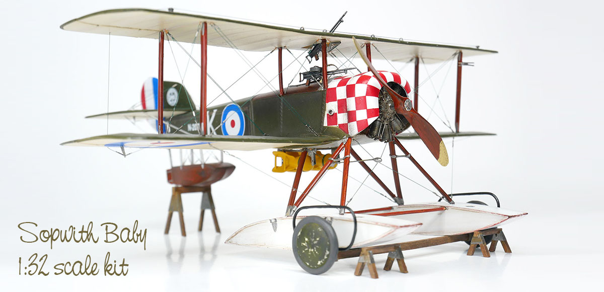 Lukgraph Sopwith Baby 1:32 scale kit